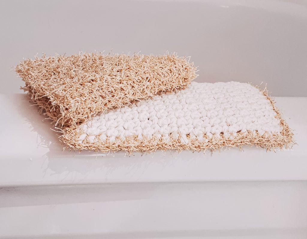 lado de algodón del paño de limpieza